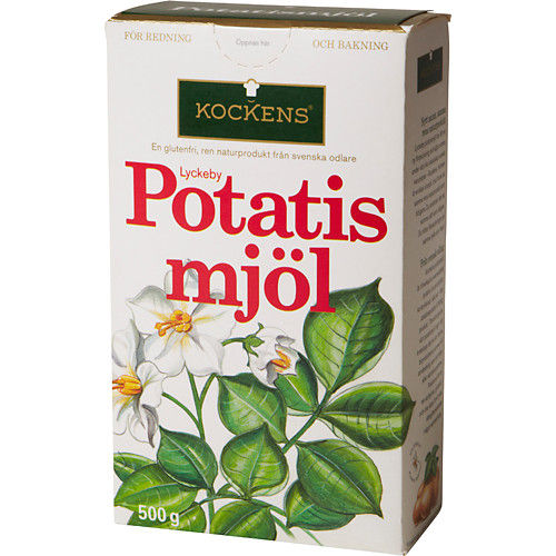 vad kan man använda istället för potatismjöl