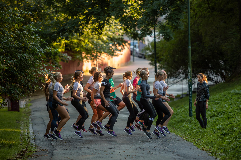 löparknä rehab bli av med