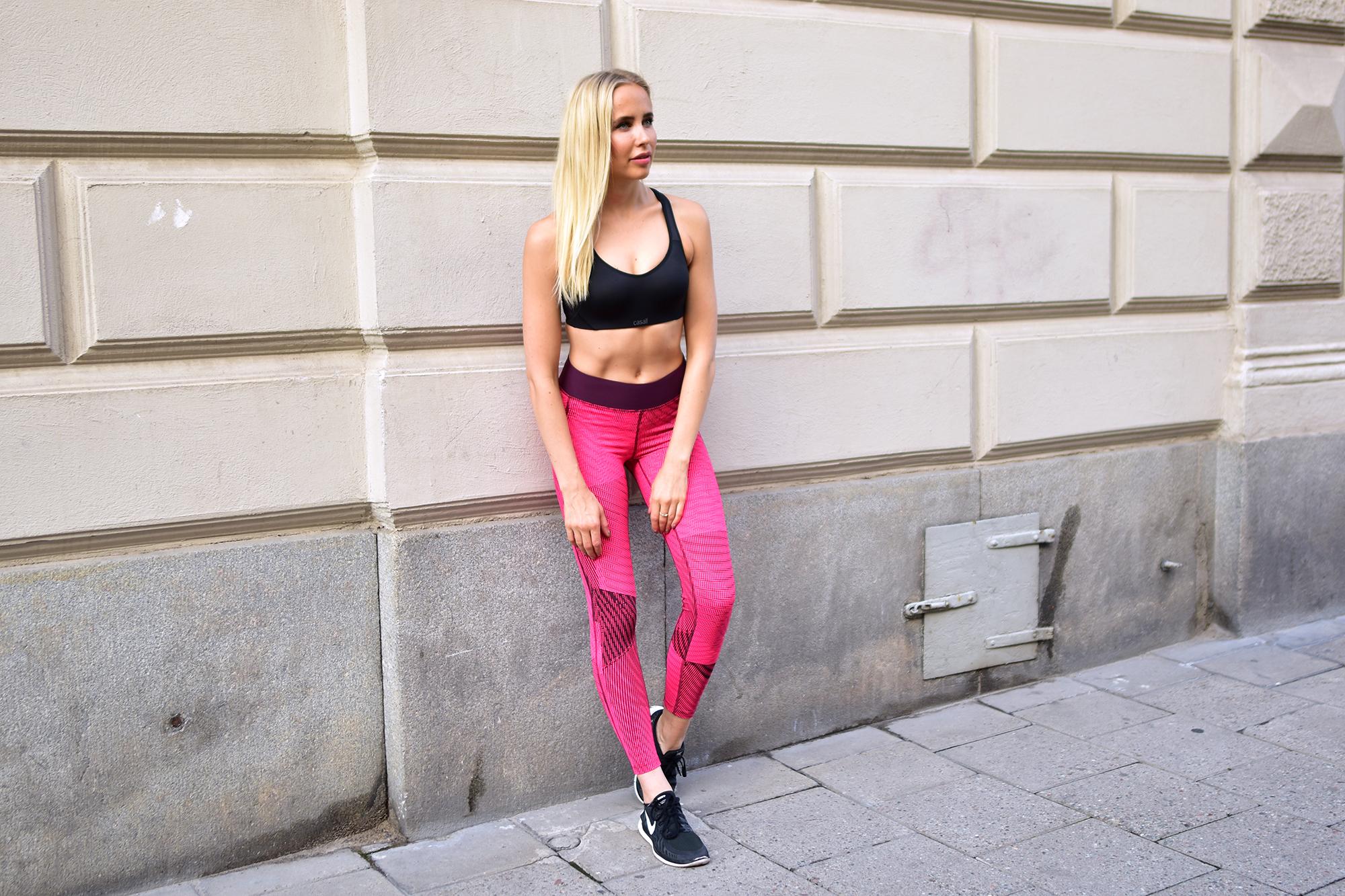 casall träning kläder tights träningskläder