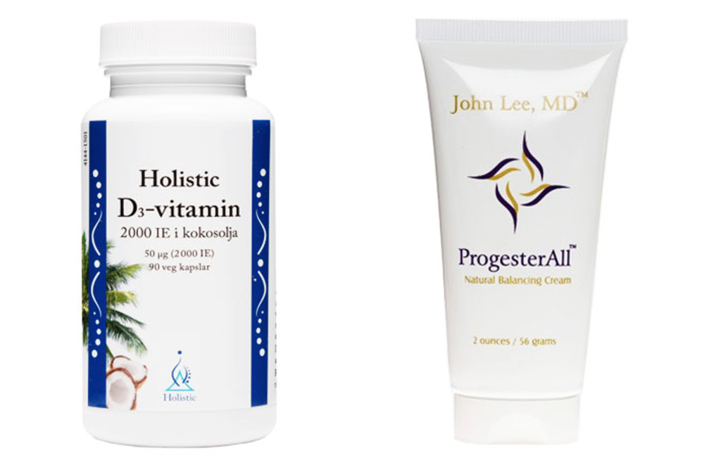 d vitamin progesterall hormonobalans