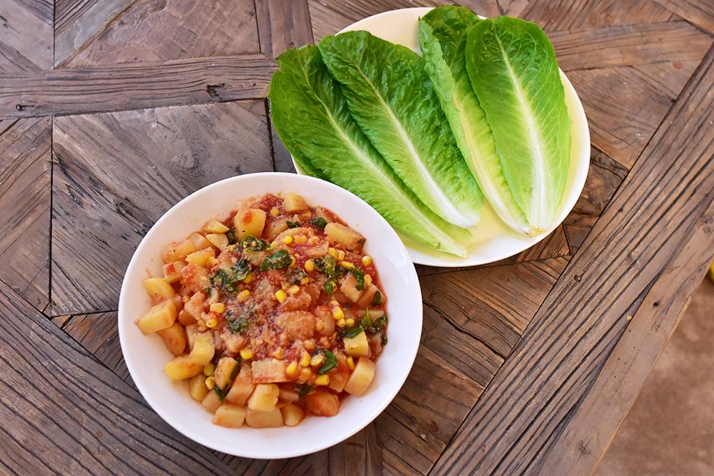nyttig vegan wrap recept