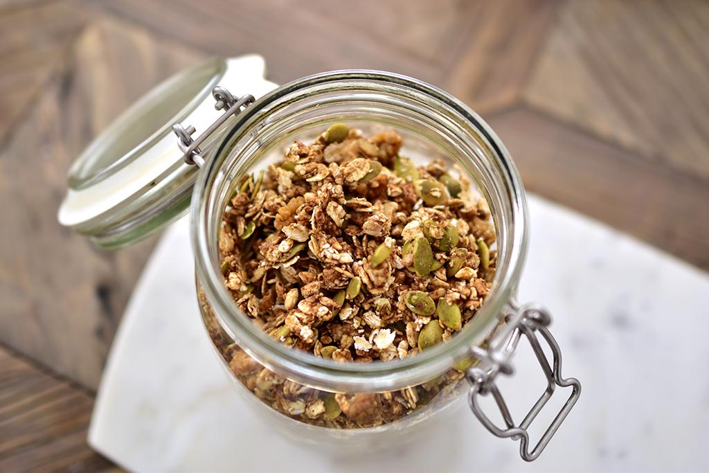 granola musli vegan hclf glutenfri