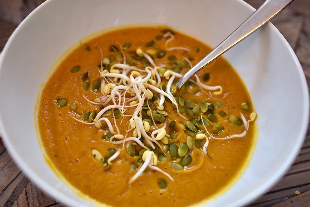 soppa vegan pumpa pumpasoppa recept