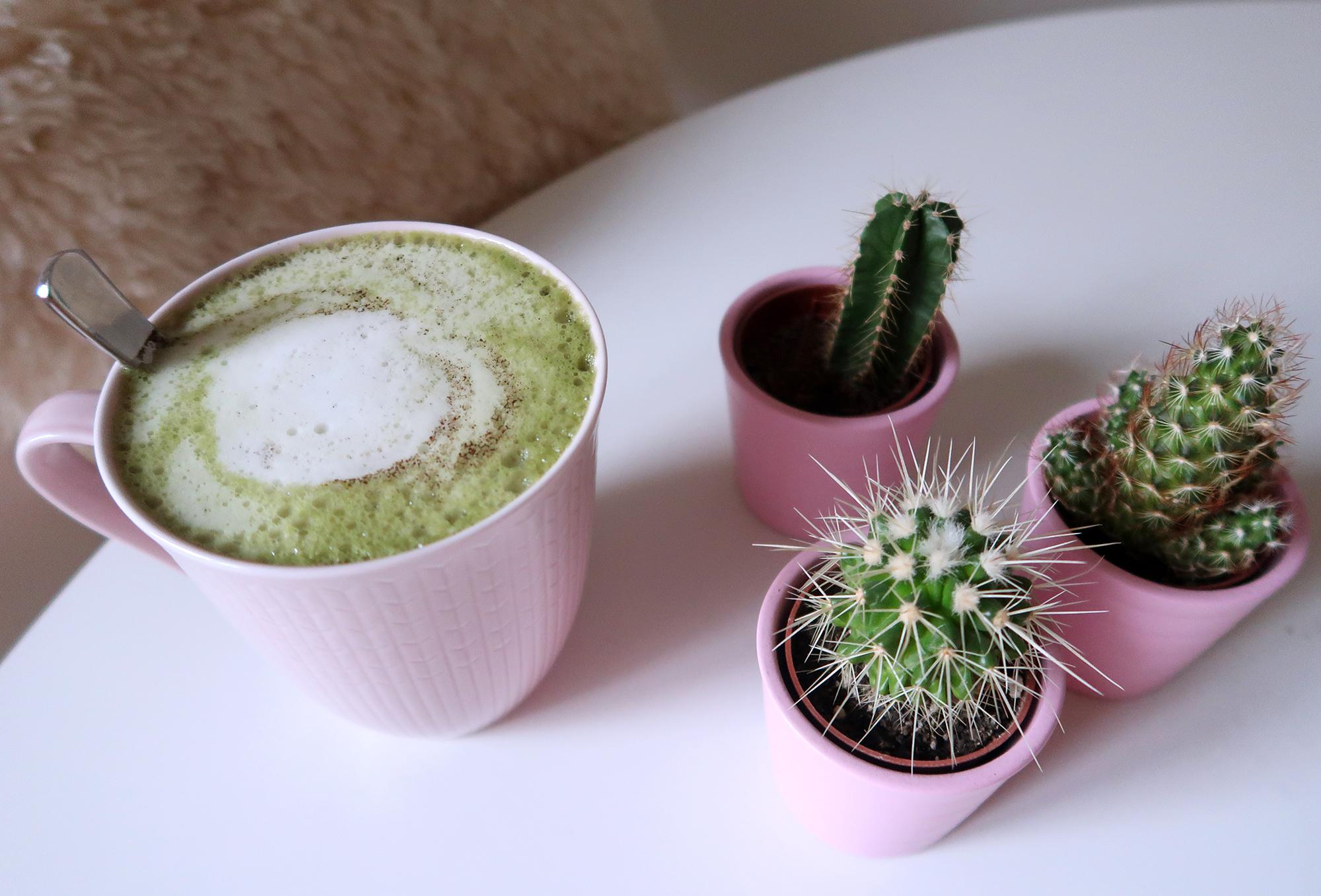 matcha-latte-recept
