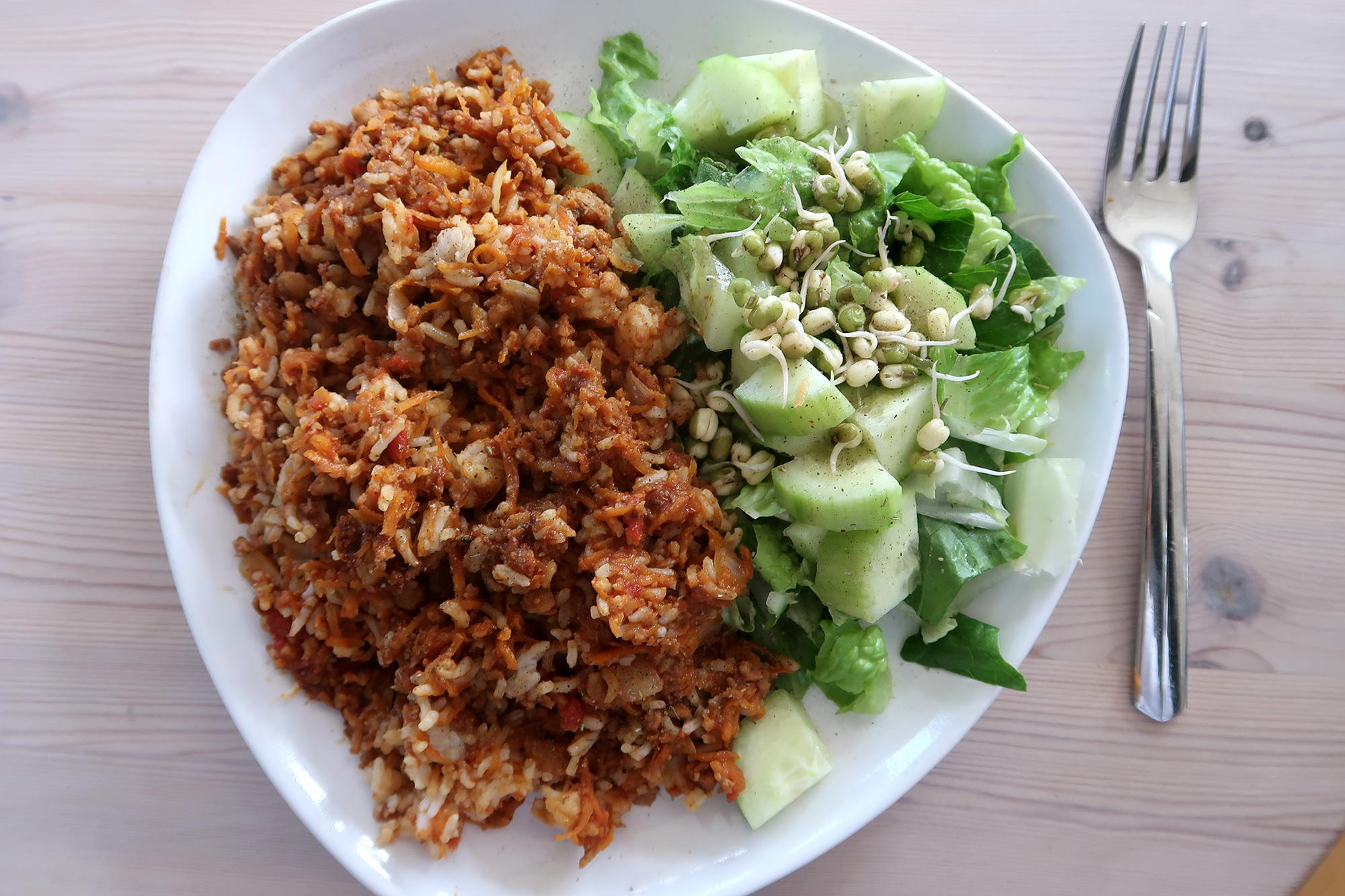 vegansk färs recept